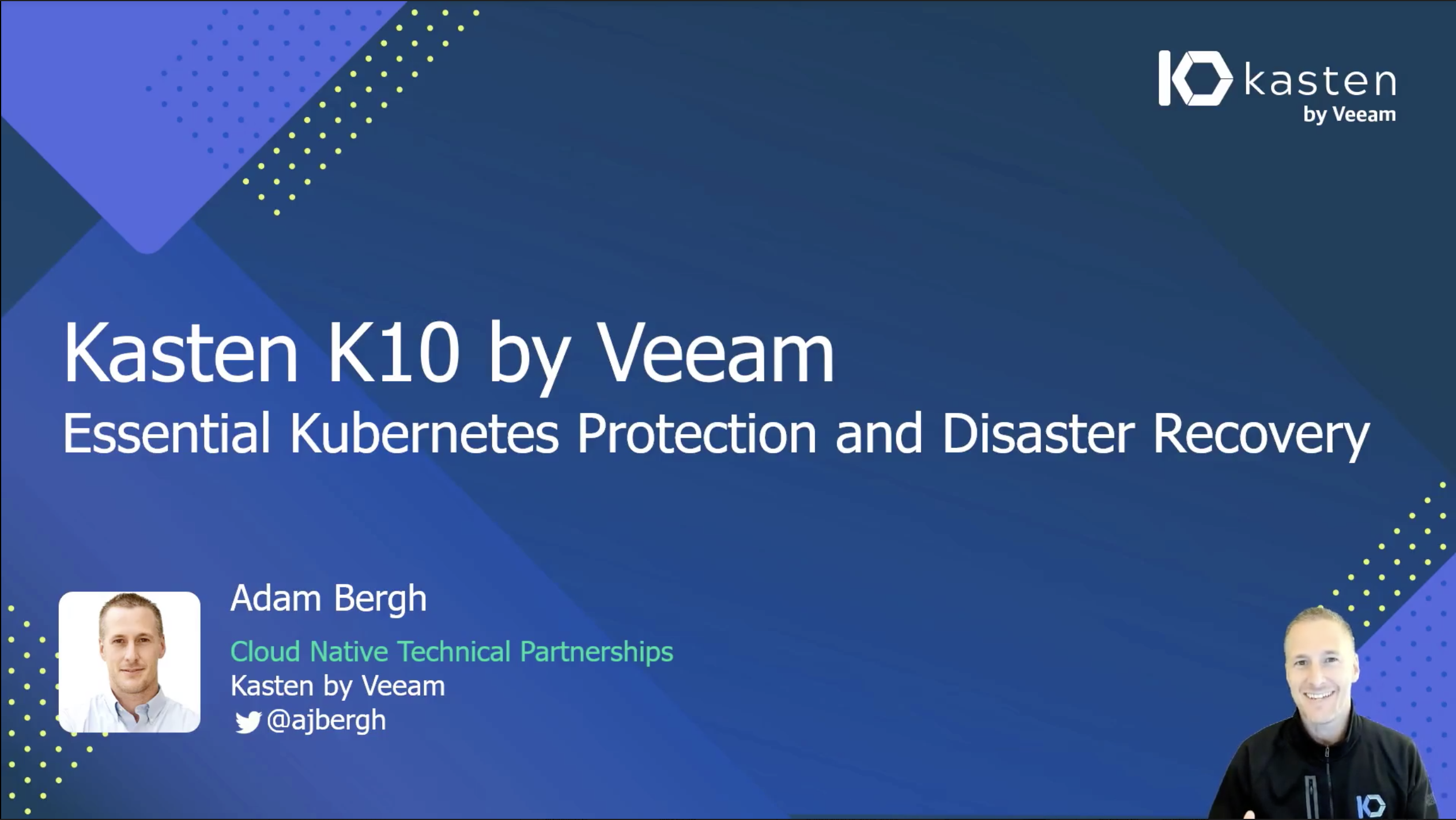 essential kubernete protection and distaster recovery