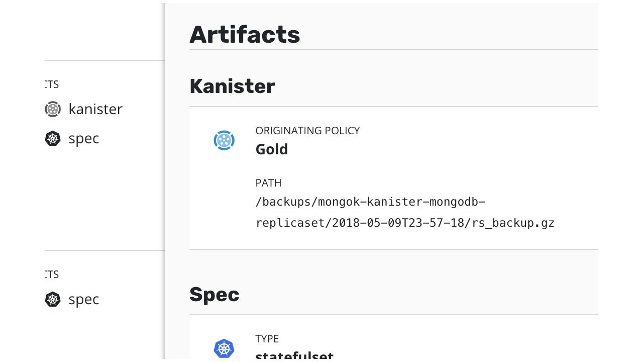 Kanister Demo: Application-Specific Protection with Kanister (1:15)