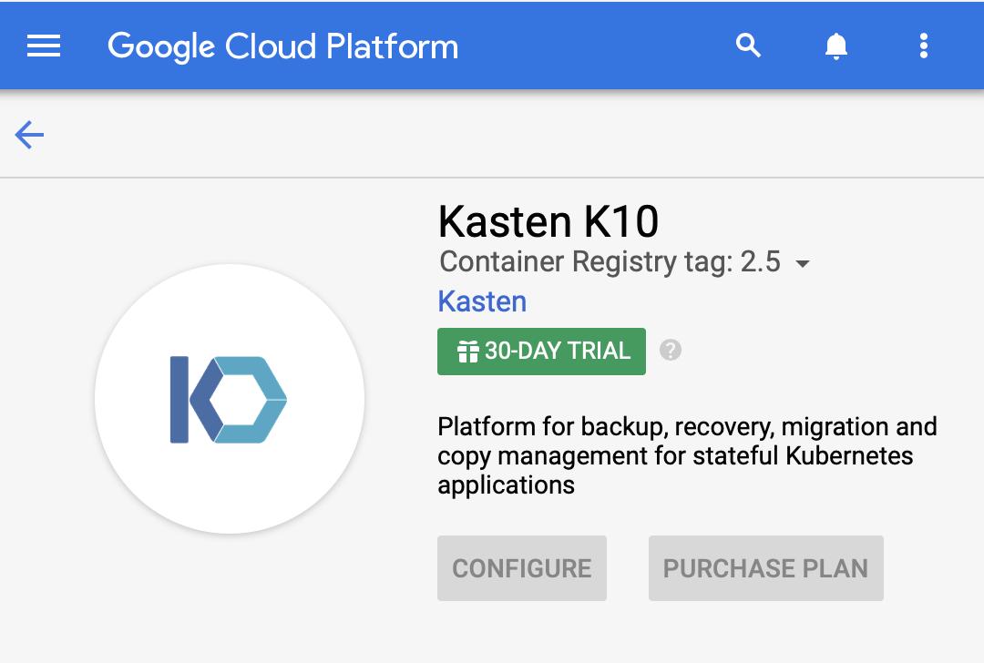 KastenK10-googlecloud