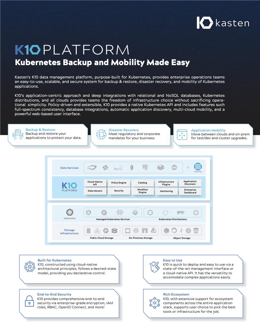 K10 data sheet