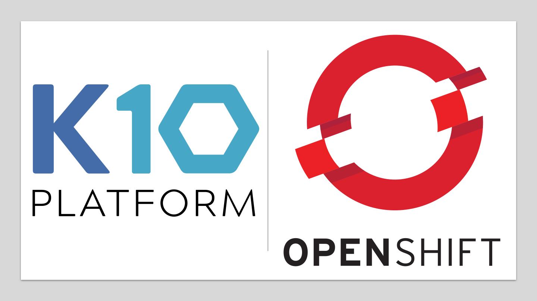 K10 Platform and OpenShift