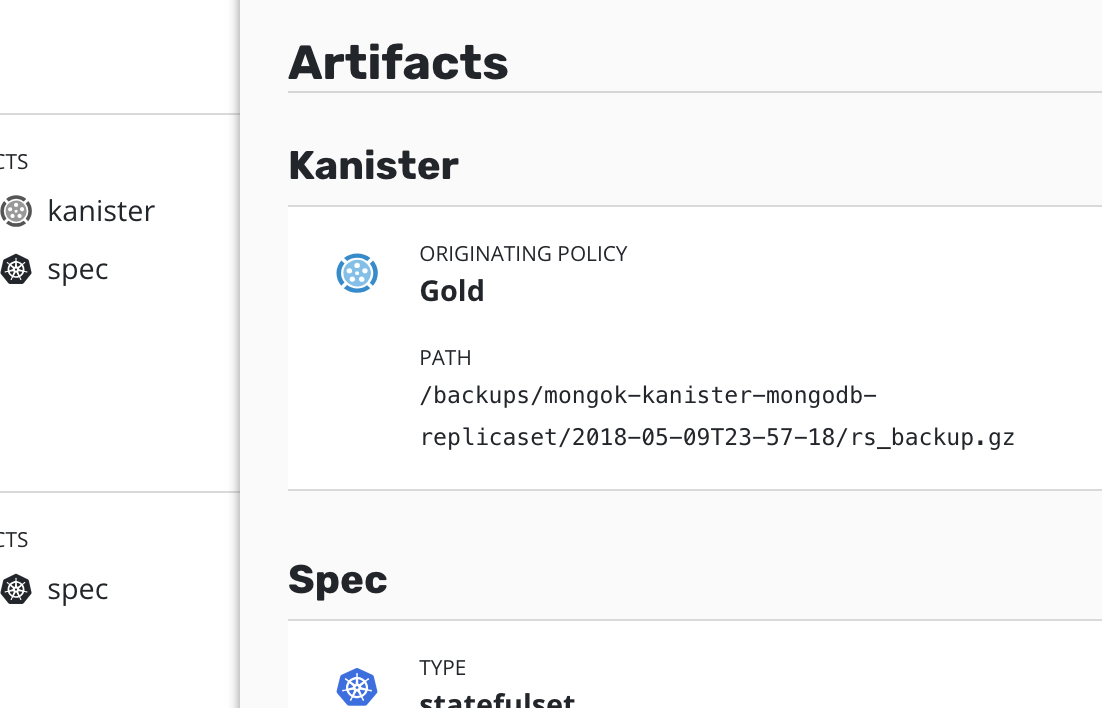 Protection with Kanister