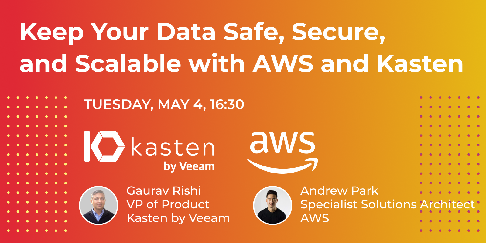 KubeCon-Keep_Your_Data_Safe,_Secure,_and_Scalable_with_AWS_and_Kasten