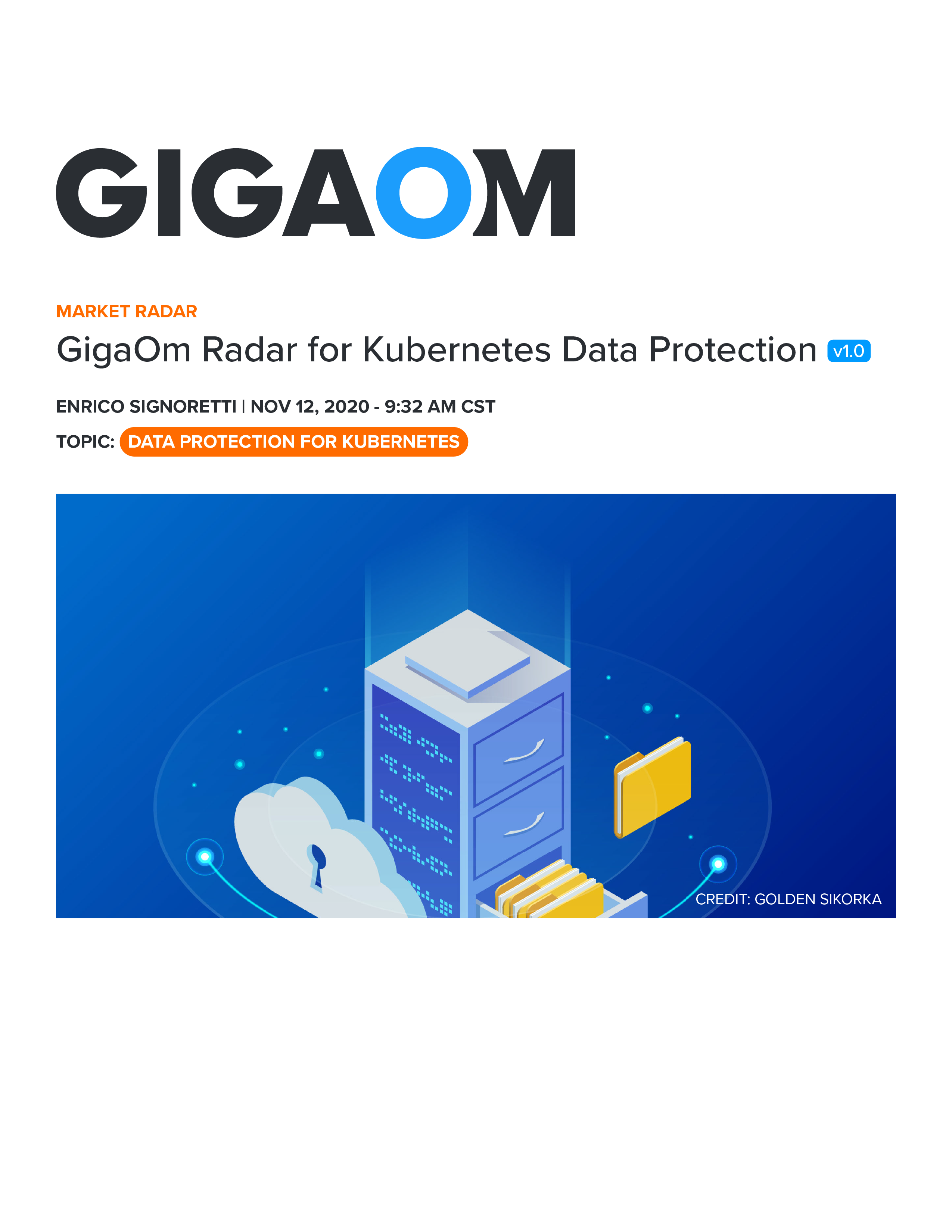GigaOm-Radar-Kubernetes-Data-Protection