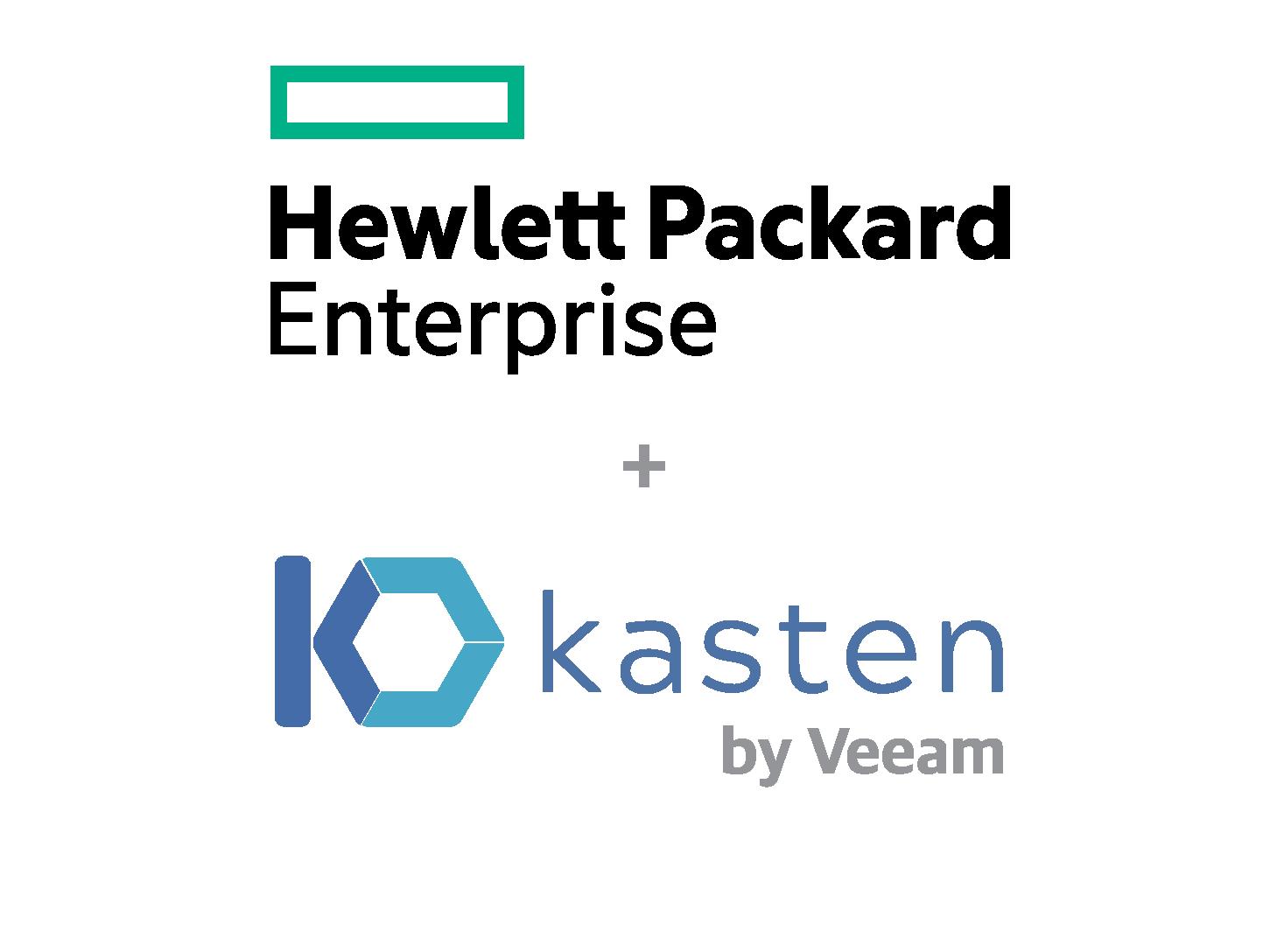 HPE+Kasten logo