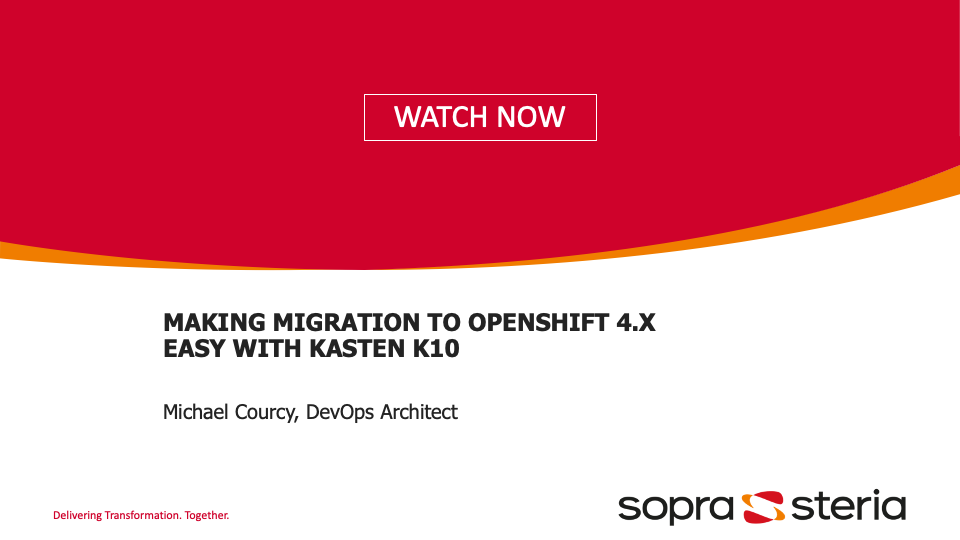 migration to OpenShift